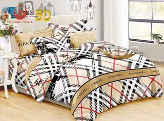 Burberry 4 in 1 Bedsheet