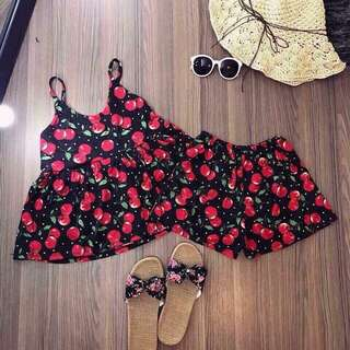 Cherry sleepwear set