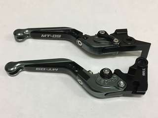 Yamaha MT-09 MT09 Brake Clutch Levers Foldable Extendable