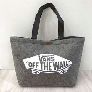 [全新] Vans Tote Bag 日本 雜誌袋 側孭袋 側咩袋 手提袋