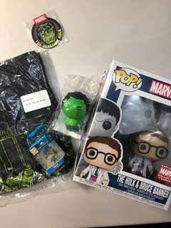 Hulk Marvel Collector Corps box (ALL ITEMS)