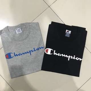 Champion Script Logo Tee
