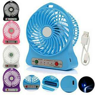 ~Mini USB Rechargeable Portable Cooling Fan