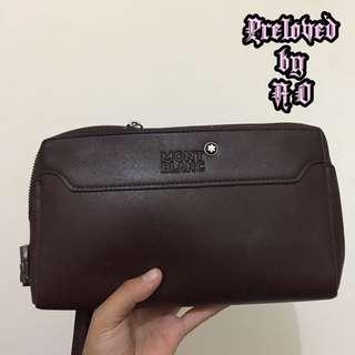 HAND BAG / CLUTCH MONT BLANC COKLAT