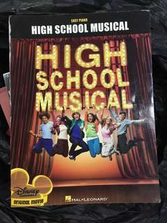 High School Musical Piano Scores Book