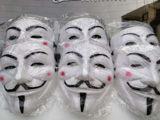 Guy Fawkes V for Vendetta Anonymous Mask