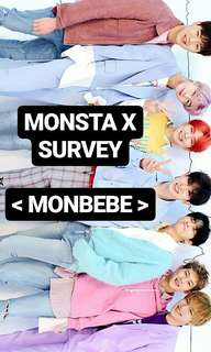 Monsta X SURVEY