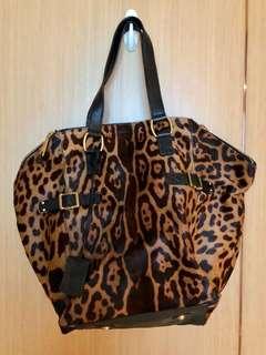 YSL horse hair bag