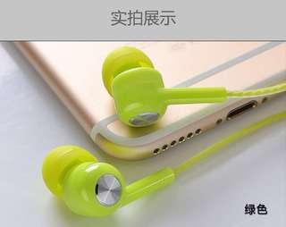 包平郵 耳機入耳式華為oppo蘋果7小米6vivo手機通用女生韓國迷你原裝正品