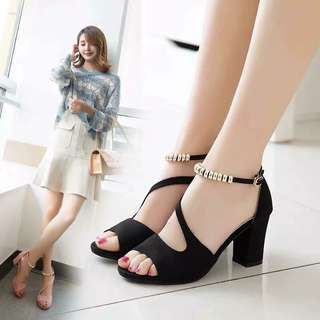Korean Block Heels