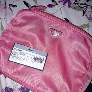 Prada Cosmetics Case Nylon 1NA011 with Authenticity Card
