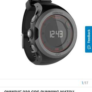Geonaute onmove 220 gps watch decathlon