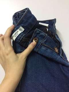 Pull & Bear 窄腳長牛仔褲