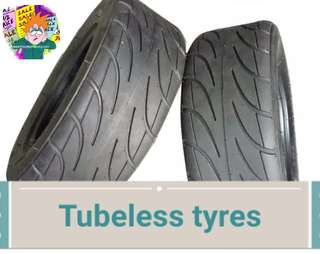 🚚 Tyres 10x4.00-6 tubeless scooter evo ultron 八骏