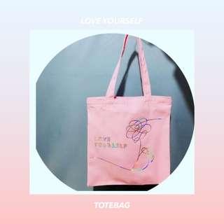 BTS Loveyourself Laser ToteBag