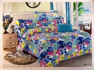 Stitch 6 in 1 Bedsheet Set