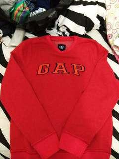 GAP Crewneck Red Amaranth