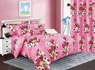 Minnie Mouse 6 in 1 Bedsheet