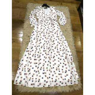 Floral Long Dress