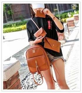 4 in 1 Korean two way bag