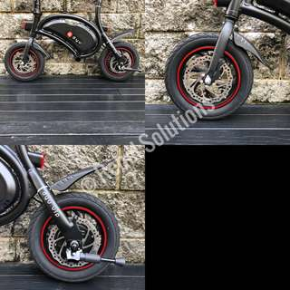 Mid Length Mudguard for DYU / AM Escooter