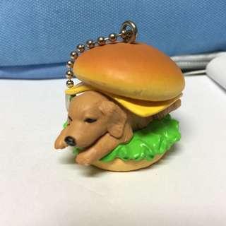 🚚 點心狗扭蛋-長毛蠟腸犬起司漢堡-二手