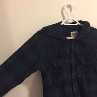 Hooded TNA Flannel Shirt