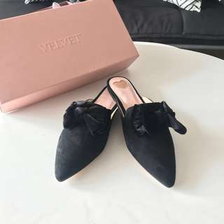 Bow Slip On Mules