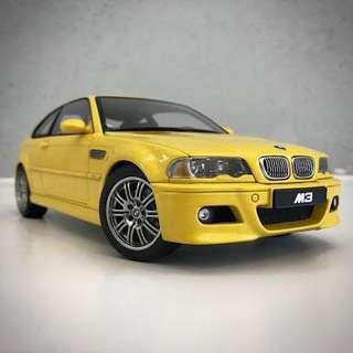 WTB> 1/18 BMW e46 M3