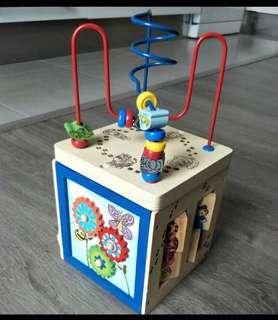 🚚 法國Playtive 五合一木製玩具