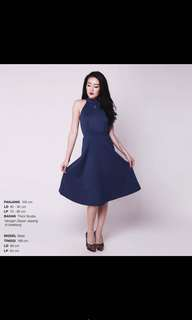 DRESS BANGKOK BLUE