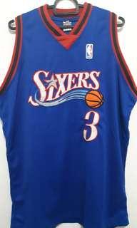 Jersey NBA Philadelphia Sixers Allen Iverson