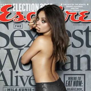Esquire magazine November 2012 Mila Kunis