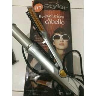 Instyler 2 in 1 alat catok keriting curly wave TERLARIS! HAIRDRYER pengkriting rambut
