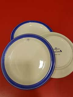 Singapore Airlines Business class Givenchy ceramic Plates