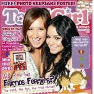 Total Girl magazine Vanessa Hudgens and Ashley Tisdale