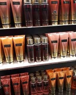 Victoria's Secret Body mist and lotion