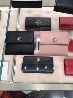 Gucci Marmont French Flap Wallet