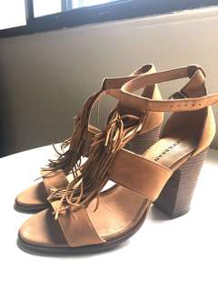 Lucky Brand Suede Heels (Size 10) OBO