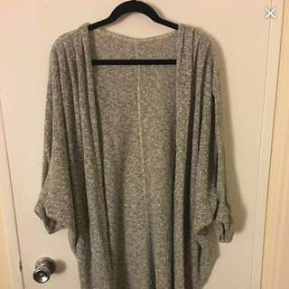 American Apparel Open Knit Cardigan OBO