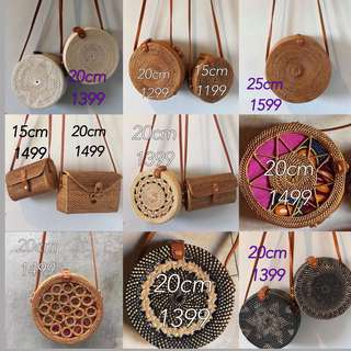 Rattan Bags from Bali (wholesale)