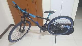 Polygon heist 5.0 custom upgrade hybrid bike
