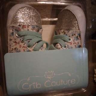 Crib couture pre walker infant shoes shoes