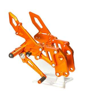 KTM RC DUKE DUKE200 DUKE390 RC125 RC200 RC390 200 390 125 modified elevated racing foot pedals gear shift brakes step