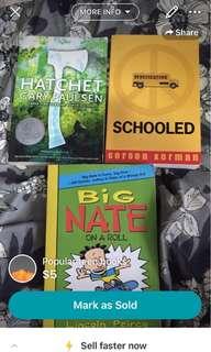 Popular teen books