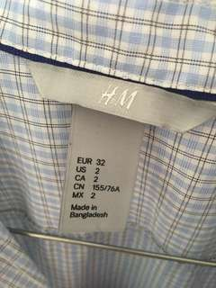 Size 6 H&M shirt