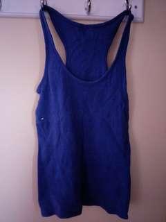 Blue singlet