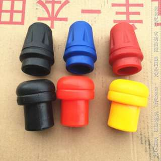 Honda Crash bar sliders black red blue yellow old new plastic tip