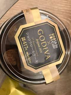 Preorder JAPAN GODIVA Chocolate cake