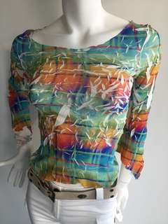 Tina M Multiple Colour Top